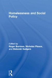Cover Homelessness and Social Policy