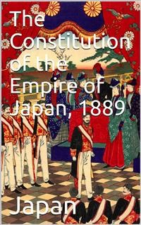 Cover The Constitution of the Empire of Japan, 1889