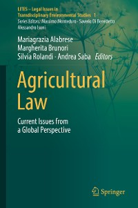 Cover Agricultural Law