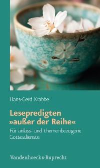 Cover Lesepredigten 'außer der Reihe'