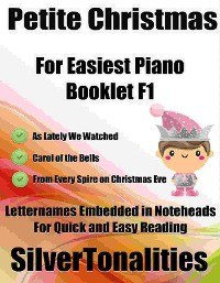 Cover Petite Christmas for Easiest Piano Booklet F1