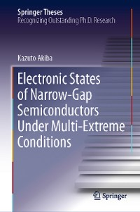 Cover Electronic States of Narrow-Gap Semiconductors Under Multi-Extreme Conditions
