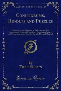 Cover Conundrums, Riddles and Puzzles