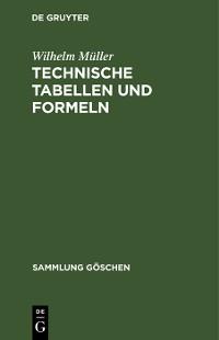 Cover Technische Tabellen und Formeln