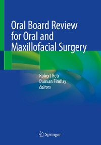 Cover Oral Board Review for Oral and Maxillofacial Surgery