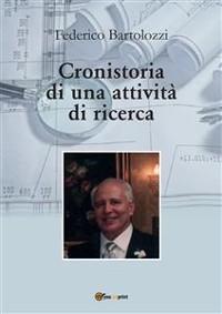 Cover Cronistoria di una attività di ricerca