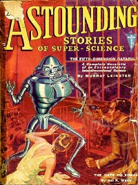 Cover Astounding Stories of Super-Science January 1931