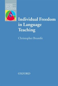 Cover Individual Freedom in Language Teaching - Oxford Applied Linguistics