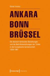 Cover Ankara - Bonn - Brüssel