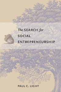 Cover The Search for Social Entrepreneurship
