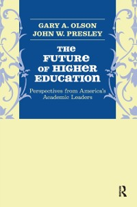 Cover Future of Higher Education