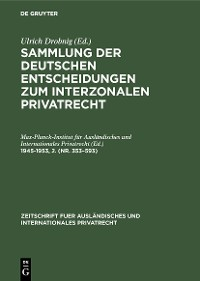 Cover 1945-1953, 2. (Nr. 353–593)