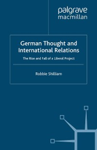 Cover German Thought and International Relations