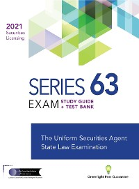 Cover SERIES 63 FUTURES LICENSING EXAM REVIEW 2021+ TEST BANK