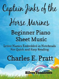 Cover Captain Jinks of the Horse Marines Beginner Piano Sheet Music Tadpole Edition
