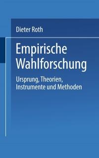 Cover Empirische Wahlforschung