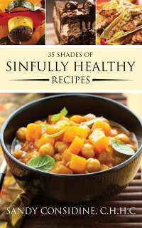 Cover 35 Shades of Sinfully Healthy Recipes