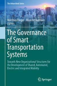 Cover The Governance of Smart Transportation Systems