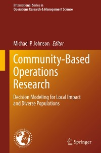 Cover Community-Based Operations Research