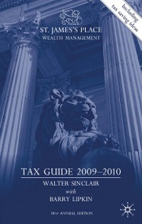Cover St. James's Place Wealth Management Tax Guide 2009–2010