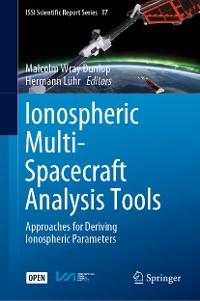 Cover Ionospheric Multi-Spacecraft Analysis Tools