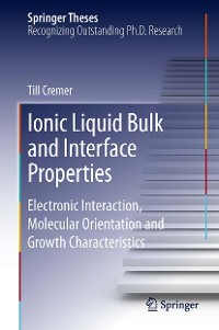 Cover Ionic Liquid Bulk and Interface Properties