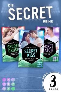 Cover Die Sammelausgabe aller Bände der romantischen Sports-Romance-Serie!  (Secret-Reihe)