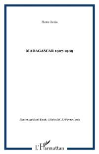 Cover MADAGASCAR 1907-1909