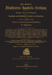 Cover Illustrirtes Handels-Lexikon