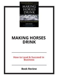 Cover Making Horses Drink