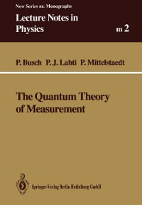 Cover Quantum Theory of Measurement
