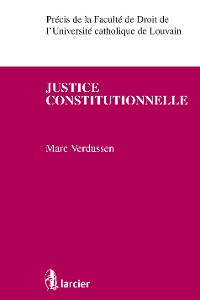 Cover Justice constitutionnelle