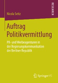 Cover Auftrag Politikvermittlung
