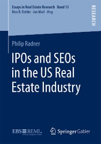 Cover IPOs and SEOs in the US Real Estate Industry