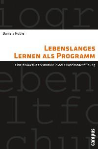 Cover Lebenslanges Lernen als Programm