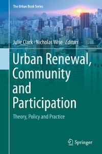 Cover Urban Renewal, Community and Participation