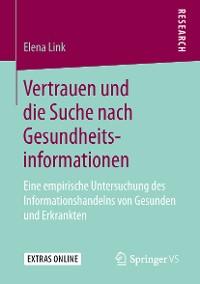 Cover Vertrauen und die Suche nach Gesundheitsinformationen