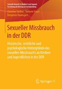 Cover Sexueller Missbrauch in der DDR