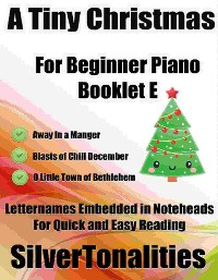 Cover A Tiny Christmas for Beginner Piano Booklet E