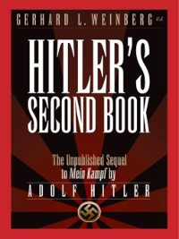 Cover Hitler's Second Book