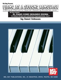 Cover Spanish / English Piano Method  Level 1