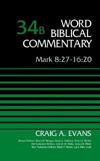 Cover Mark 8:27-16:20, Volume 34B