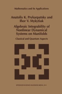Cover Algebraic Integrability of Nonlinear Dynamical Systems on Manifolds