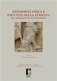 Cover Deformità fisica e identità della persona tra medioevo ed età moderna