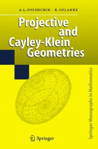 Cover Projective and Cayley-Klein Geometries