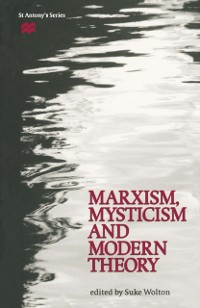 Cover Marxism, Mysticism and Modern Theory