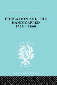 Cover Education and the Handicapped 1760 - 1960