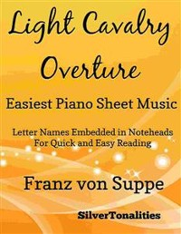Cover Light Cavalry Overture Easiest Piano Sheet Music