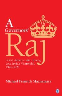 Cover A Governors' Raj
