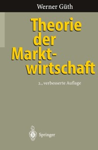 Cover Theorie der Marktwirtschaft